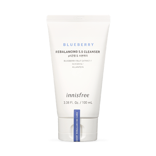 Innisfree Blueberry Rebalancing 5.5 Cleanser  1