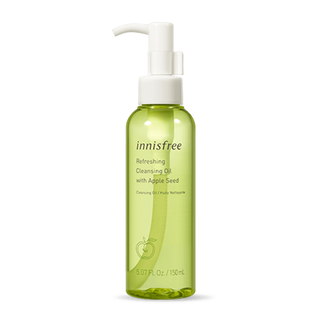 Innisfree Dầu Tẩy Trang Refreshing Cleansing Oil with Apple Seed 1